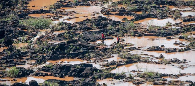QuasarLontra em expedição de 630km no Paraguai