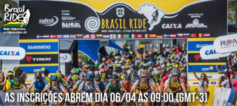 Inscrições do Brasil Ride 2017 abrem dia 06/Abr